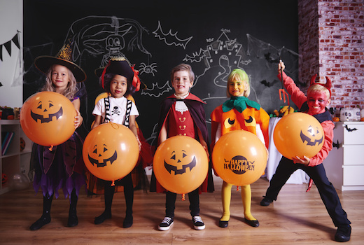 Tante idee per organizzare una festa di Halloween per bambini 182dea3c3feb