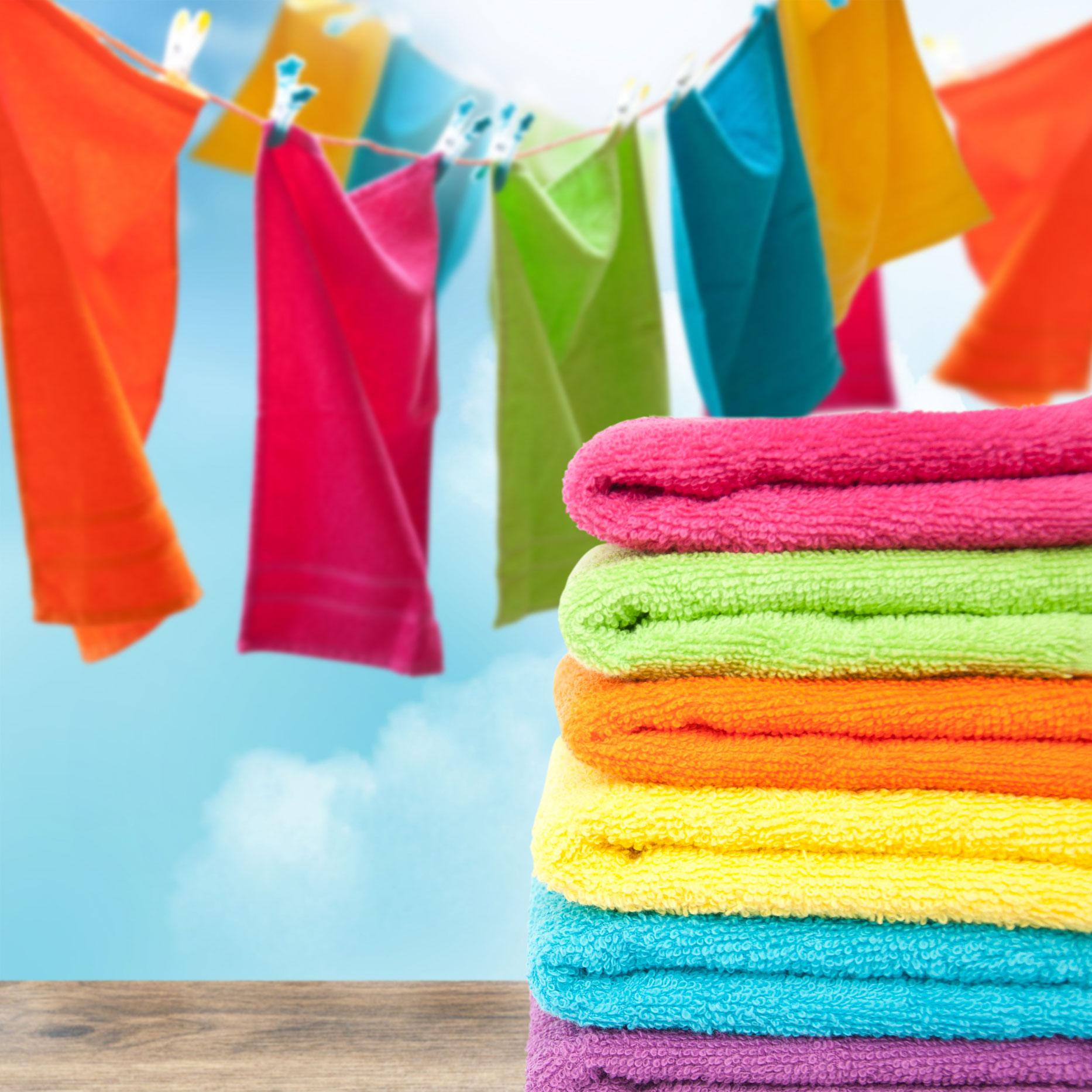 Come Lavare Il Lino colori super brillanti? ecco come lavare i panni colorati scala