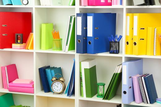 organizzare i documenti di casa